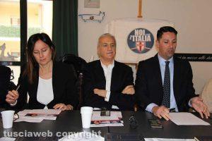 Simonetta Badini, Luciano Ciocchetti e Felice Casini