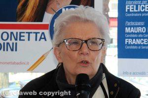 Viterbo - Noi con l'Italia - Paola Binetti