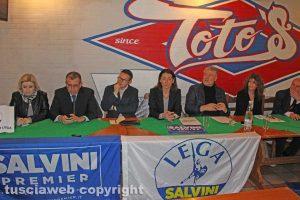 Viterbo - Lega - La presentazione dei candidati