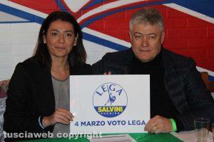 Barbara Saltamartini e Umberto Fusco