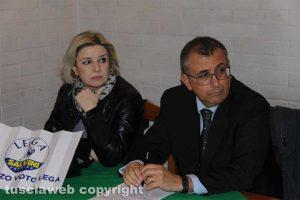 Tiziana Mancinelli ed Enrico Maria Contardo