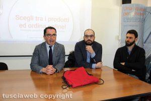 Andrea De Simone, Lucio Lazzari e Riccardo Aquilanti