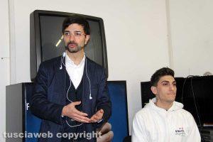 Daniele Sabatini alla presentazione di Viterbo express