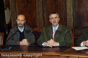 Viterbo - Consorzio Apea - A destra Antonio Di Pietro