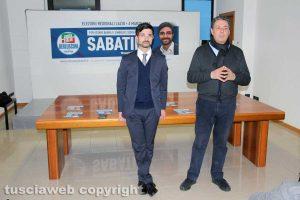 Daniele Sabatini e Giulio Marini