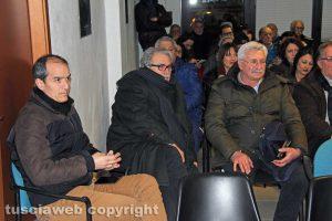 Viterbo - Sabatini candidato - L'incontro con gli amici di Giulio Marini