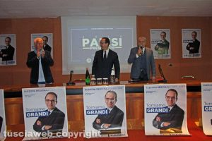 Viterbo - L'incontro con Stefano Parisi