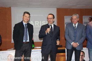 Ermenegildo Rossi, Stefano Parisi e Giovanni Arena