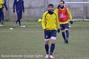 Sport - Calcio - Viterbese - L'allenamento di ieri - Jefferson