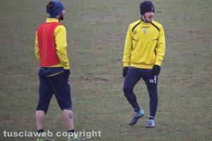 Sport - Calcio - Viterbese - L'allenamento di ieri - Riccardo Pandolfi