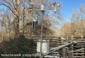 Faggeta - Stazione meteo del piazzale del Monte Cimino