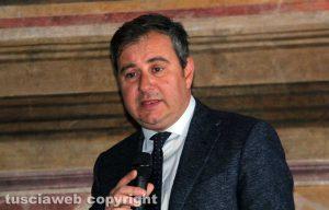 Viterbo - Il presidente della Camera di commercio Domenico Merlani