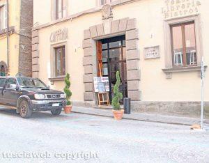 Viterbo - L'ingresso del teatro Caffeina