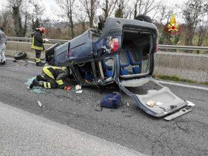 Incidente sulla strada statale 3 bis Tiberina (E45)