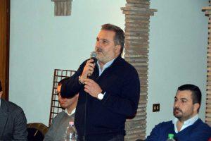 Il consigliere regionale Enrico Panunzi