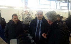 Valentano - Il consigliere regionale Panunzi in visita all'azienda