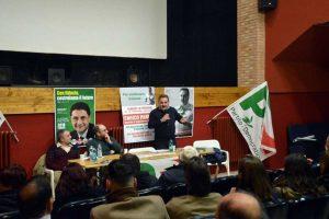 Enrico Panunzi all'incontro a Soriano nel Cimino