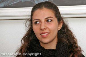 Viterbo - L'istruttrice di krav maga Lea Dray