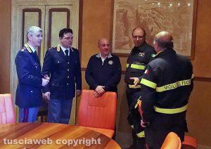 Emergenza neve - Viterbo - Il Comitato operativo della viabilità