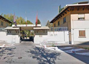 Torino - Le officine del quinto reparto mobile della polizia