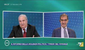 Giuseppe Fioroni e Ignazio La Russa a La7