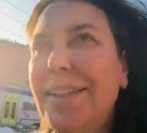 Sabina Guzzanti ferma a Orte