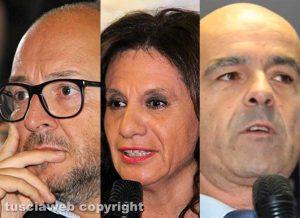 I candidati di Fratelli d'Italia alla Camera Rotelli, Allegrini e Monti