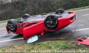 Incidente sulla Verentana, cappotta Ferrari