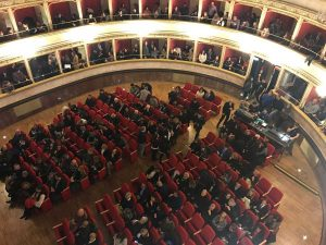 Viterbo - Uno spettacolo all'Unione
