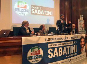 Viterbo - L'incontro di Daniele Sabatini alle terme