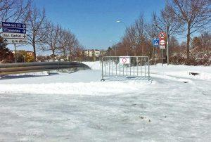 Viterbo - Neve - Semianello chiuso
