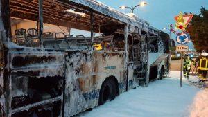 Venezia - A fuoco bus