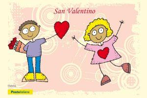 Viterbo - Una cartolina dedicata a San Valentino