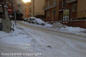 Viterbo - Neve - Via Vicenza