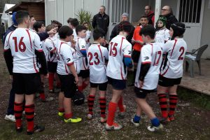 Sport - Rugby - L'under 14 del Civita Castellana