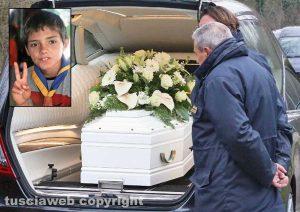 Albinea - Il funerale di Davide Ciuffreda