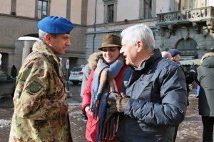 Viterbo - Neve - I militari dell'aviazione dell'esercito al lavoro - Luisa Ciambella e Leonardo Michelini