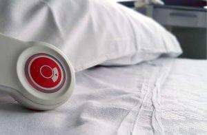 Un letto d'ospedale