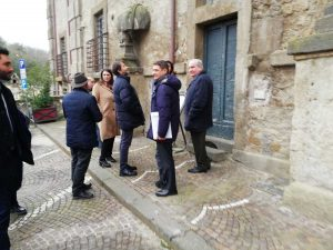 Mazzoli a Bassano Romano per la visita del ministro Franceschini