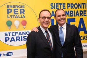 Stefano Parisi e Sergio Caci
