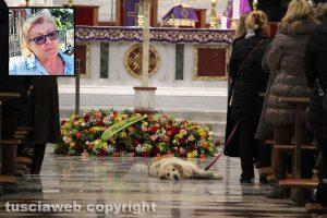 Viterbo - I funerali di Elvia Viglino