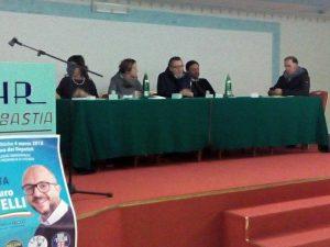Ilaria Tranfa (FdI) a Soriano nel Cimino