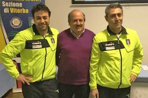 Sport - Calcio - Andrea Sorrentino e Giorgio Fortunati all'Aia Viterbo