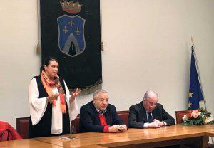 Luisa Ciambella, Piero Camilli e Giuseppe FIoroni