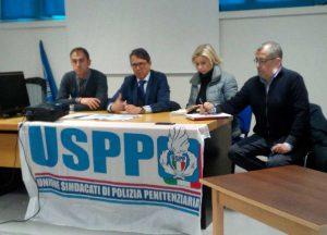 Viterbo - Contardo e Mancinelli all'incontro con l'Uspp per Mammagialla
