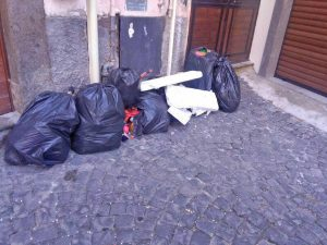 Viterbo - Degrado nel centrostorico