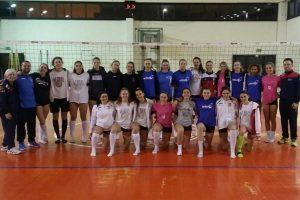 Sport - Pallavolo - Allenamento congiunto tra Cqr e Vbc Viterbo