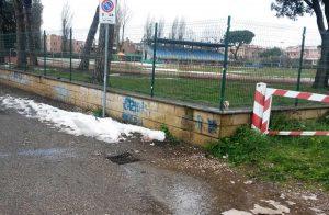 Viterbo - La zona liberata dai rifiuti