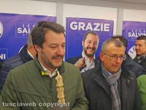 Matteo Salvini a Viterbo