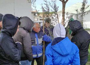 Tarquinia - Giornata di potatura per gli studenti del Cardarelli